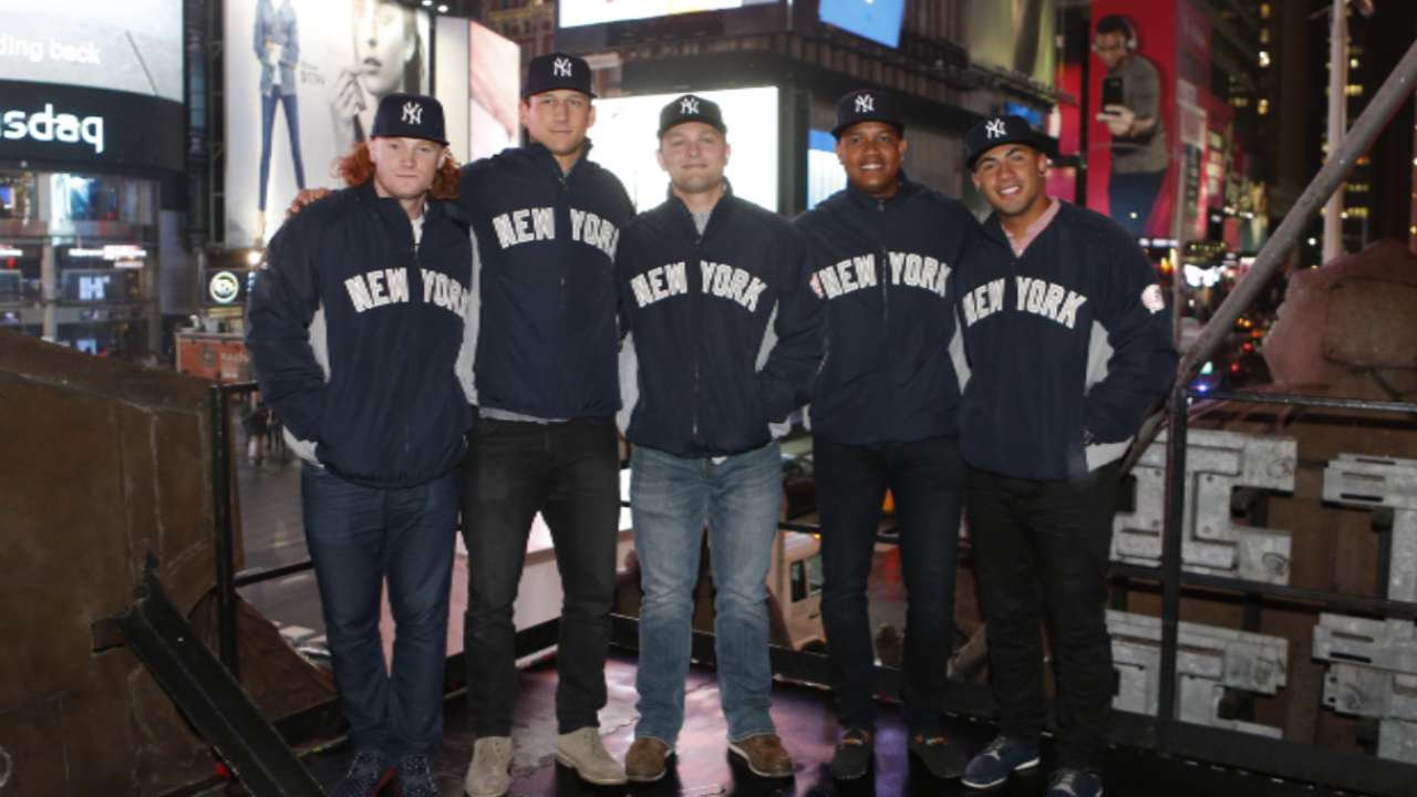 Yanks' youth movement gathering more steam