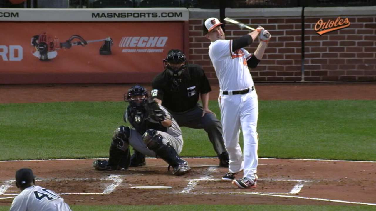 Orioles re-sign Trumbo to 3-year deal