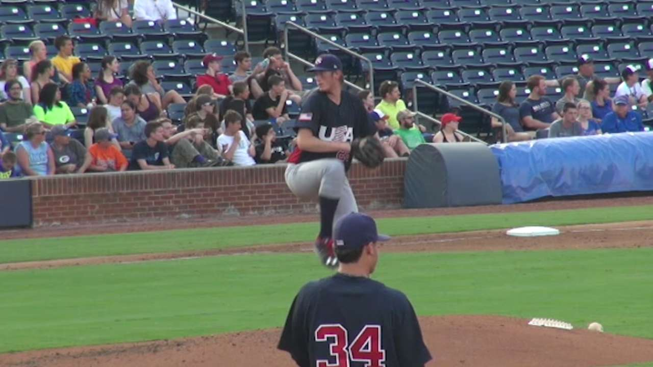Olson, Puk named A's Prospects of the Year