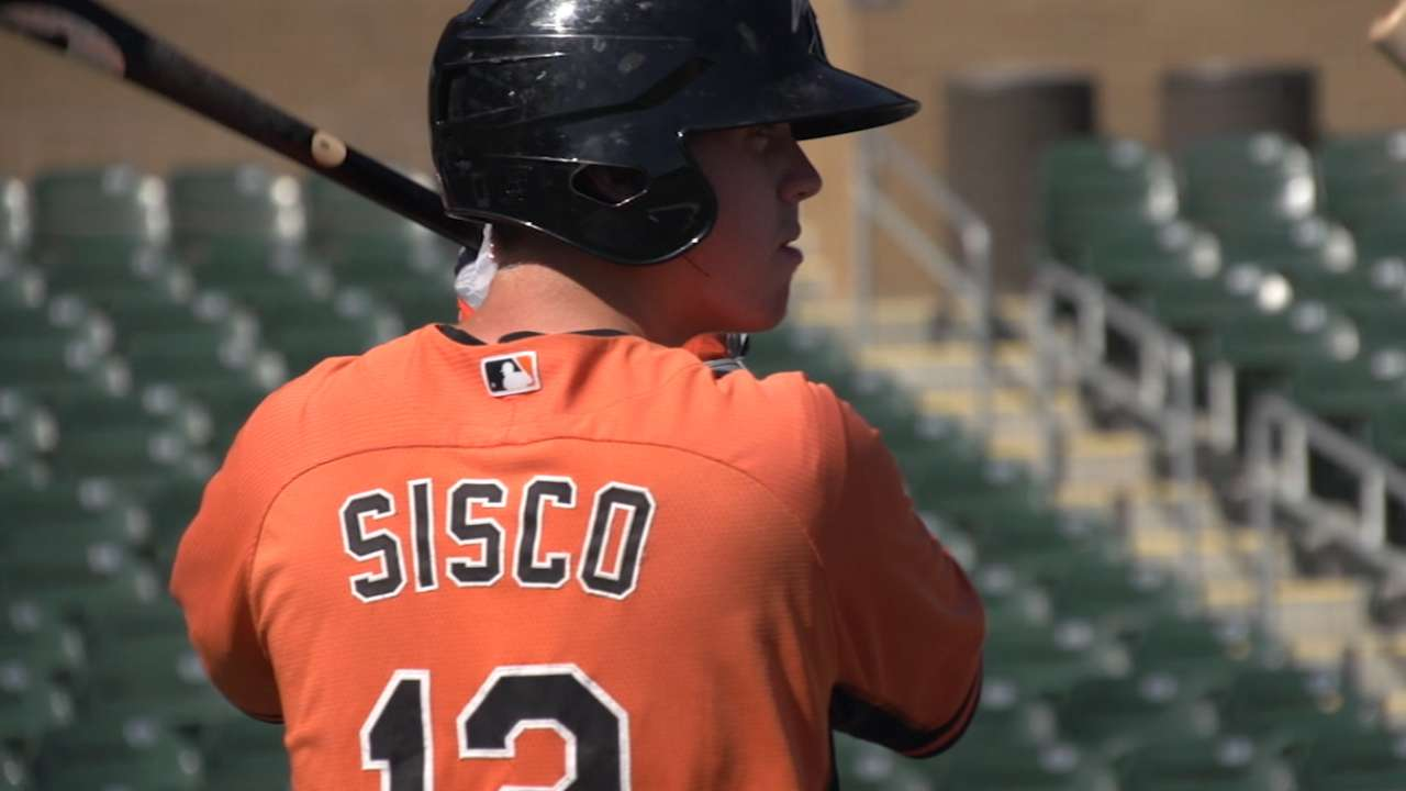Sisco checks in on Top 100 Prospects list