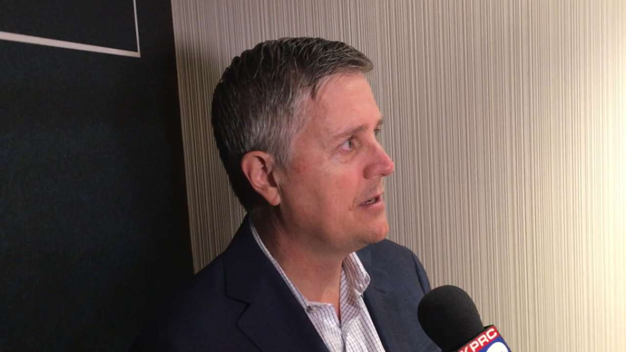 Luhnow sees pieces in place for Astros