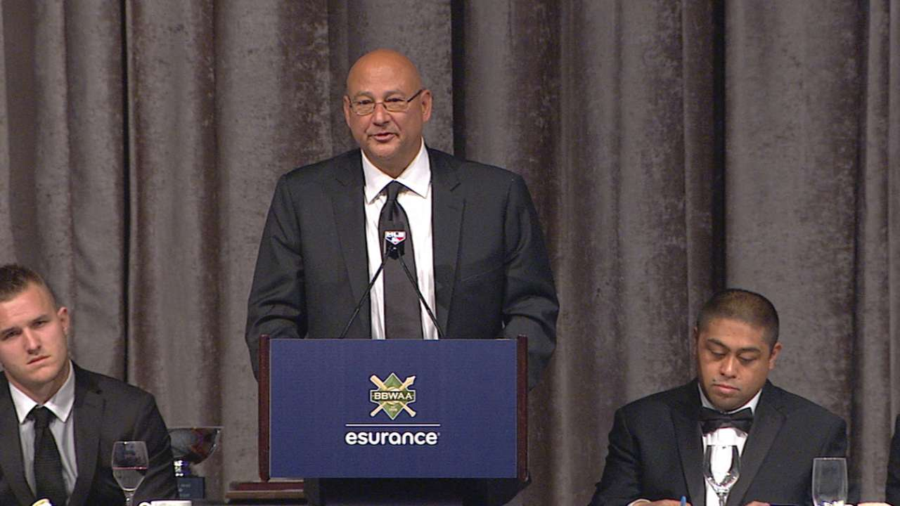 Francona on BBWAA award