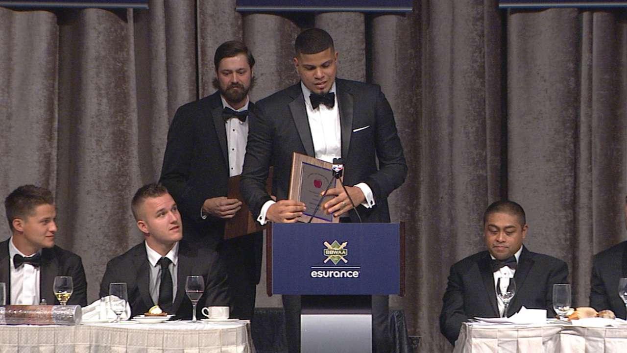 Betances, Miller earn award