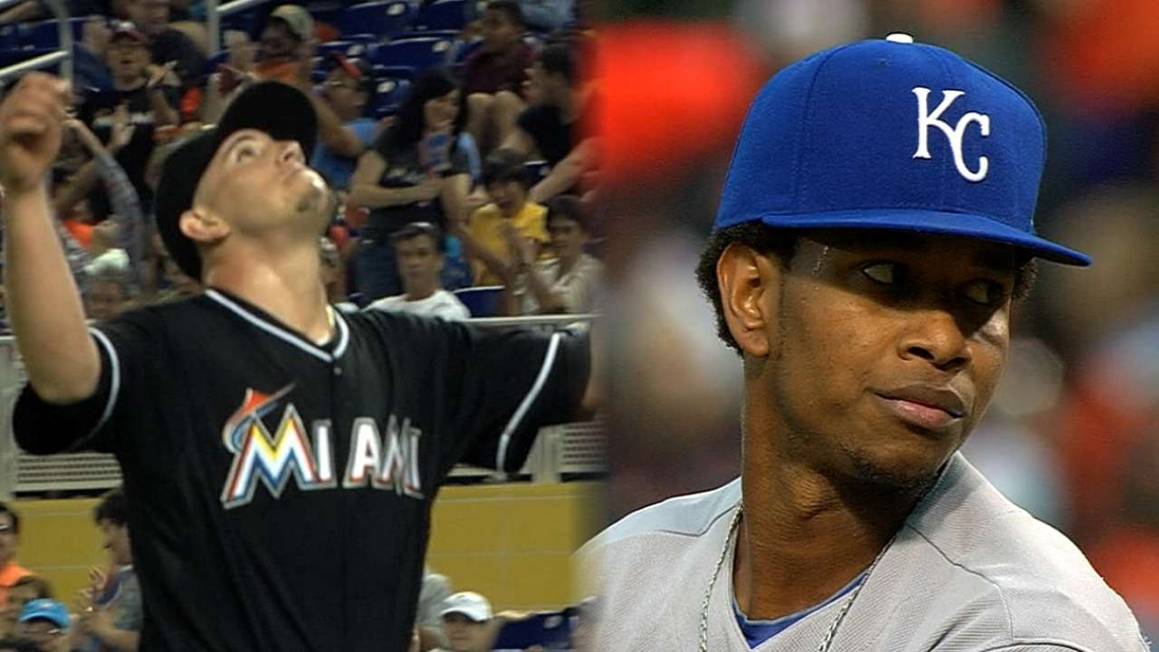 Moore reaches out to Marlins
