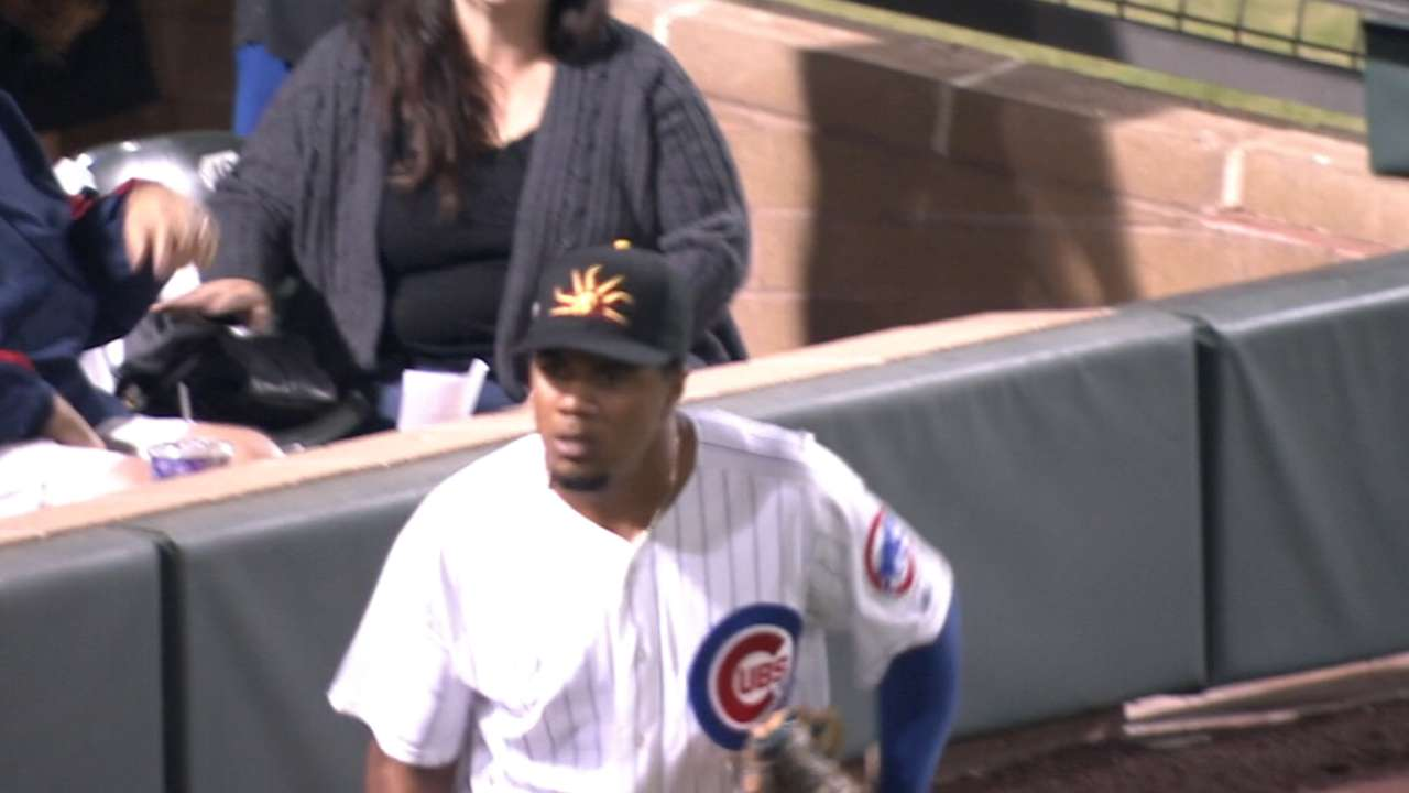 Top prospects lead I-Cubs' offensive explosion
