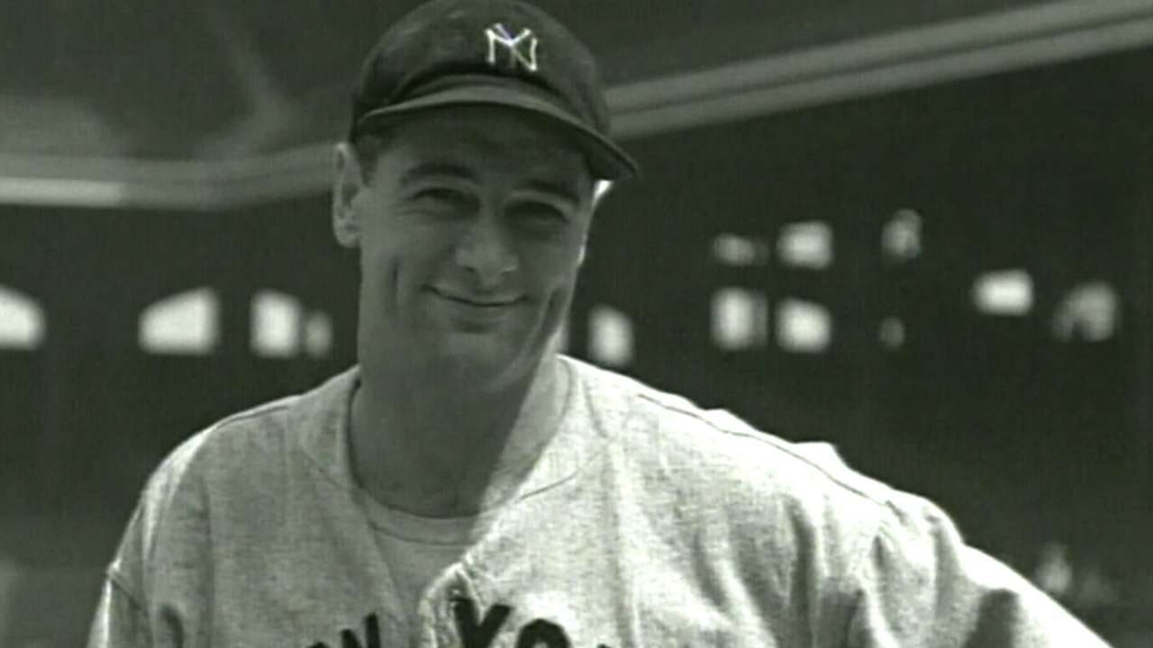 Gehrig was a proud New Yorker