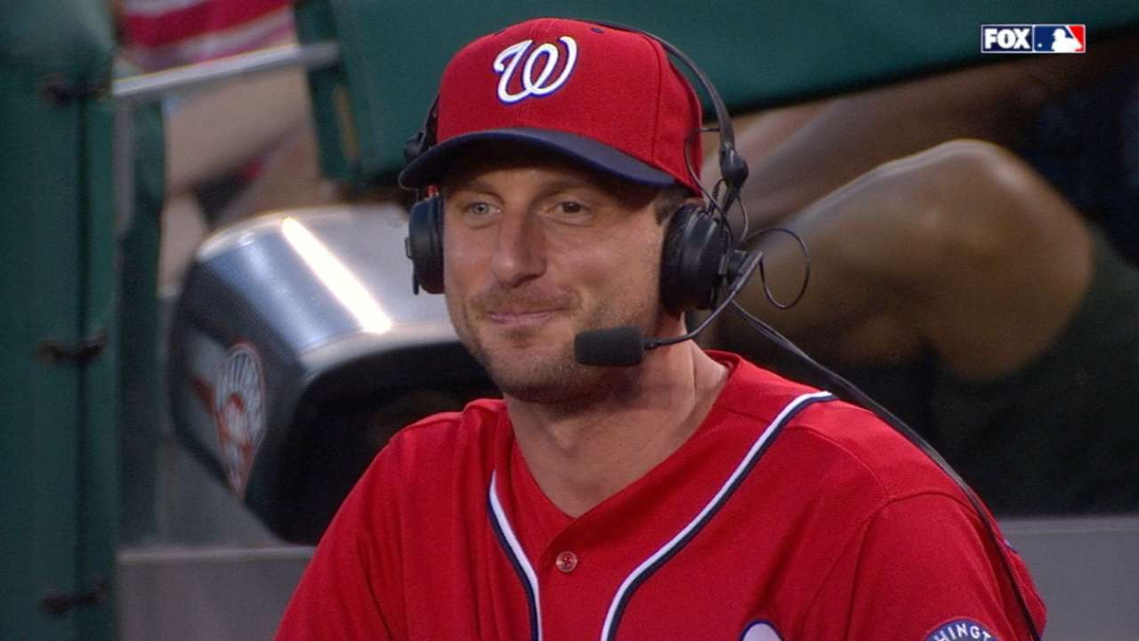 Scherzer was a big Cardinals fan