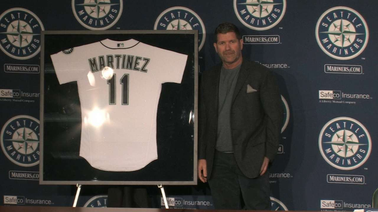 Mariners to retire Edgar's No. 11 in August