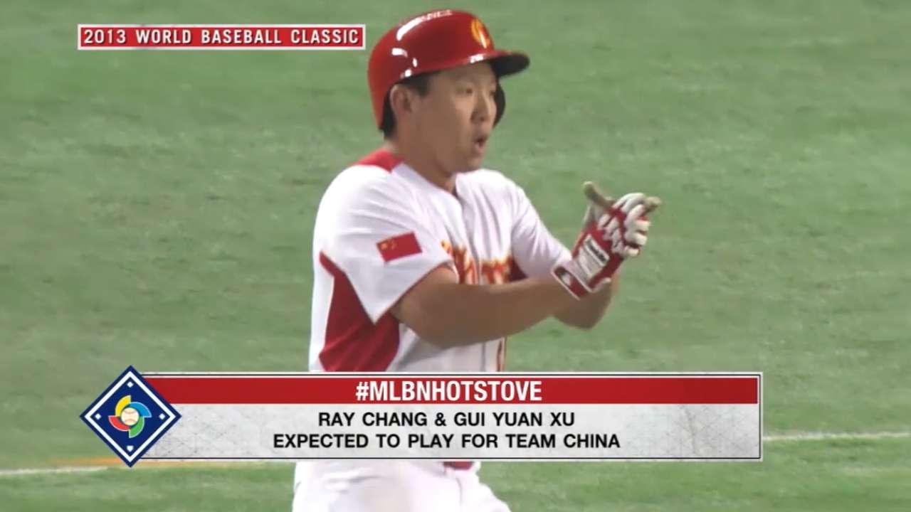 Chen honoring heritage in World Baseball Classic