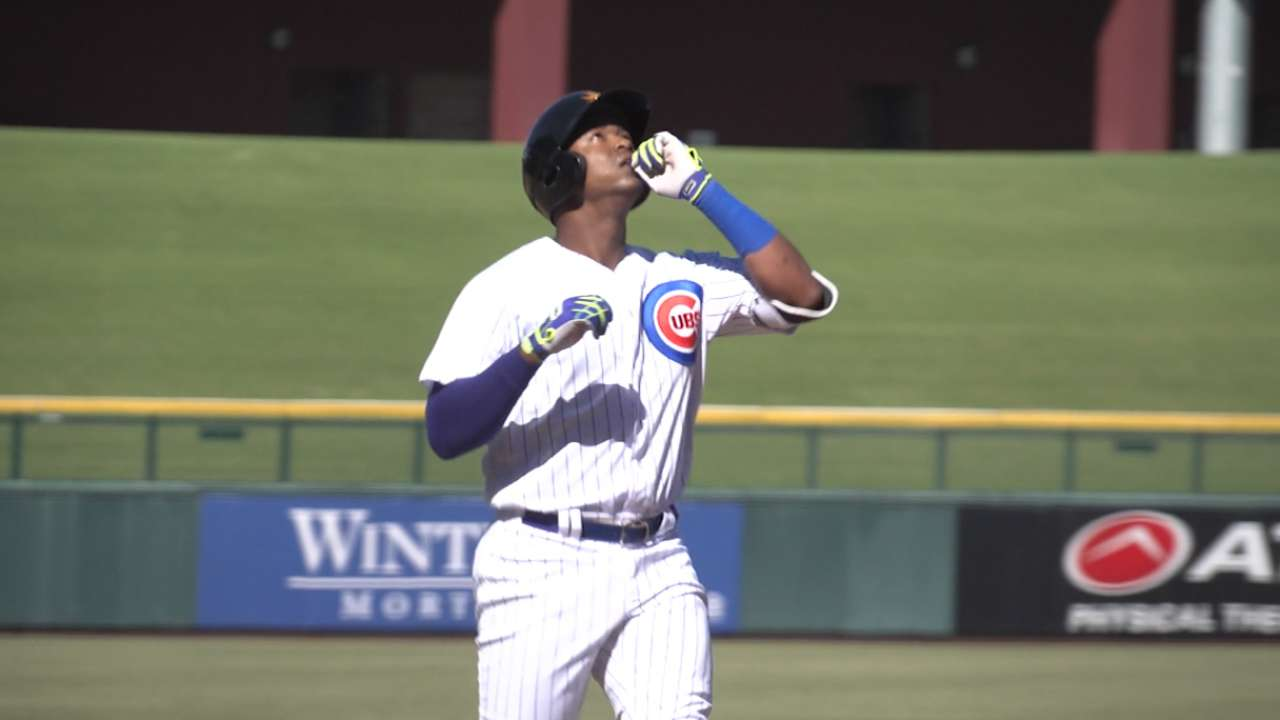 Cubs prospect Jimenez shelved for 3 weeks