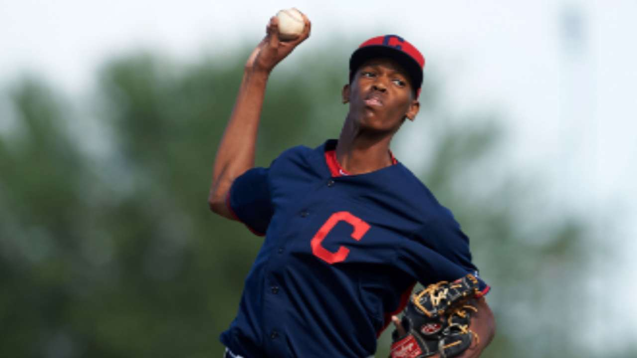 McKenzie, Diaz named Indians Prospects of the Year