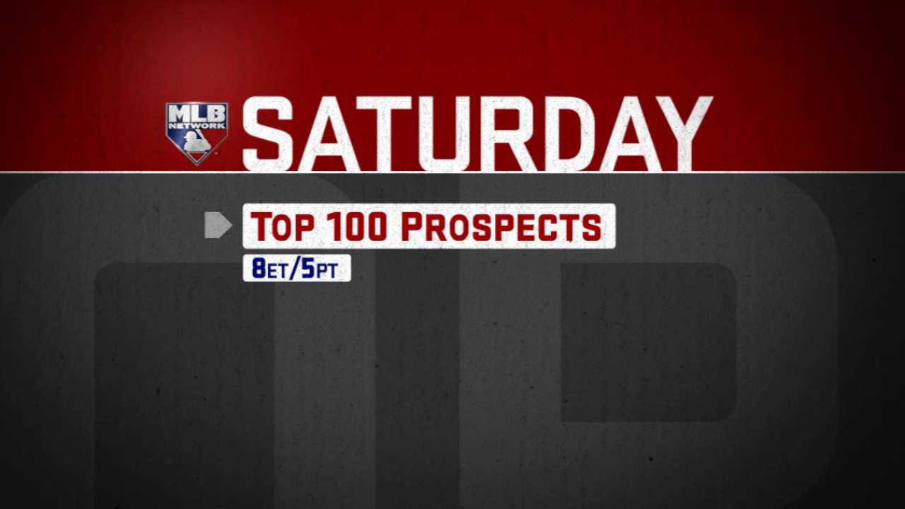 Who's No. 1? MLB Pipeline to unveil Top 100 Prospects