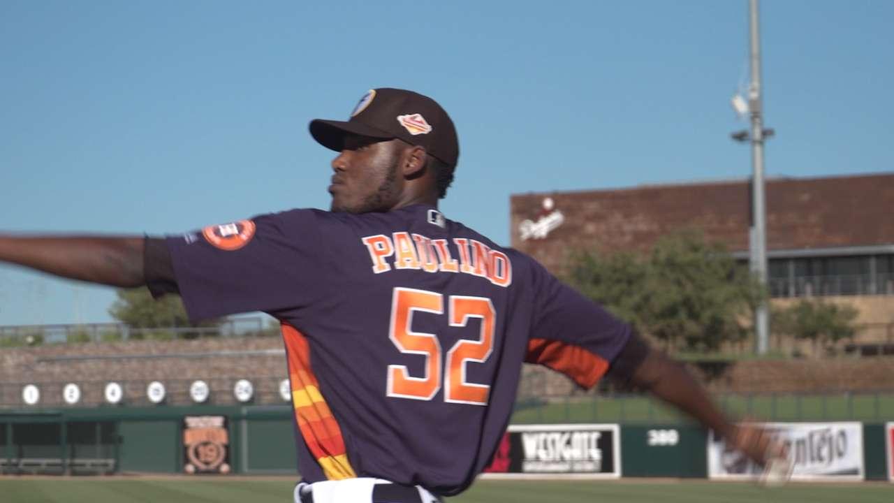 Top Prospects: Paulino, HOU