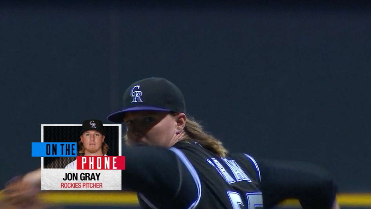 Gray on pitching at Coors Field