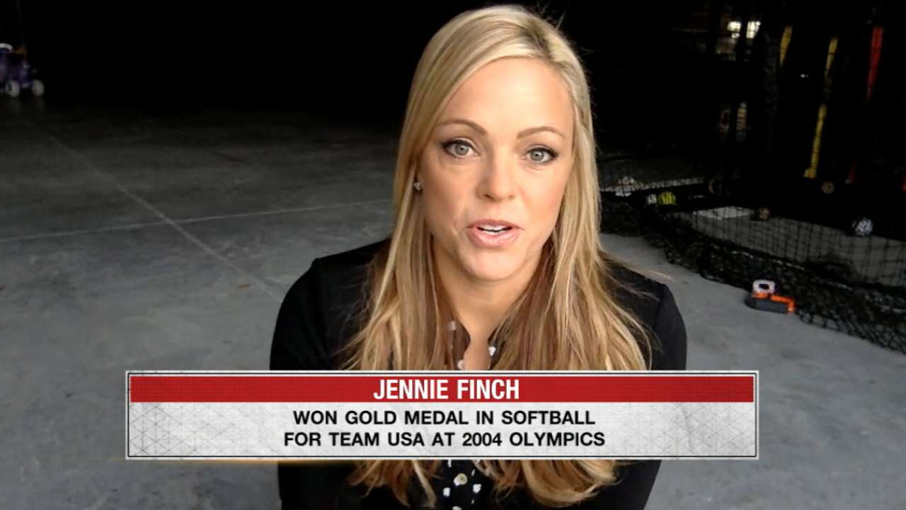 Finch on softball in Olympics