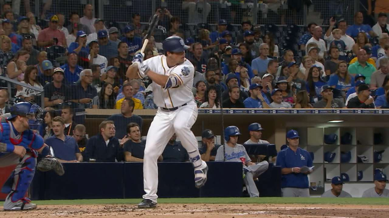 Padres eager to see Renfroe in a longer look