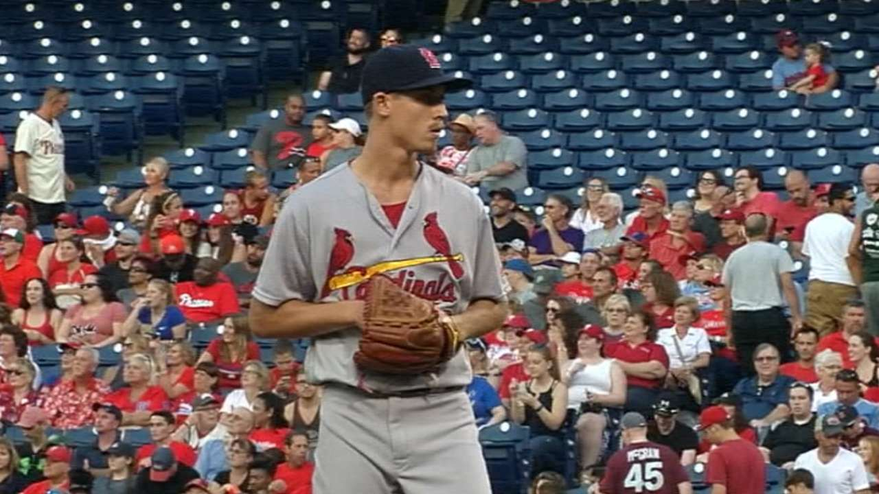 Cardinals set rotation for first 4 spring games