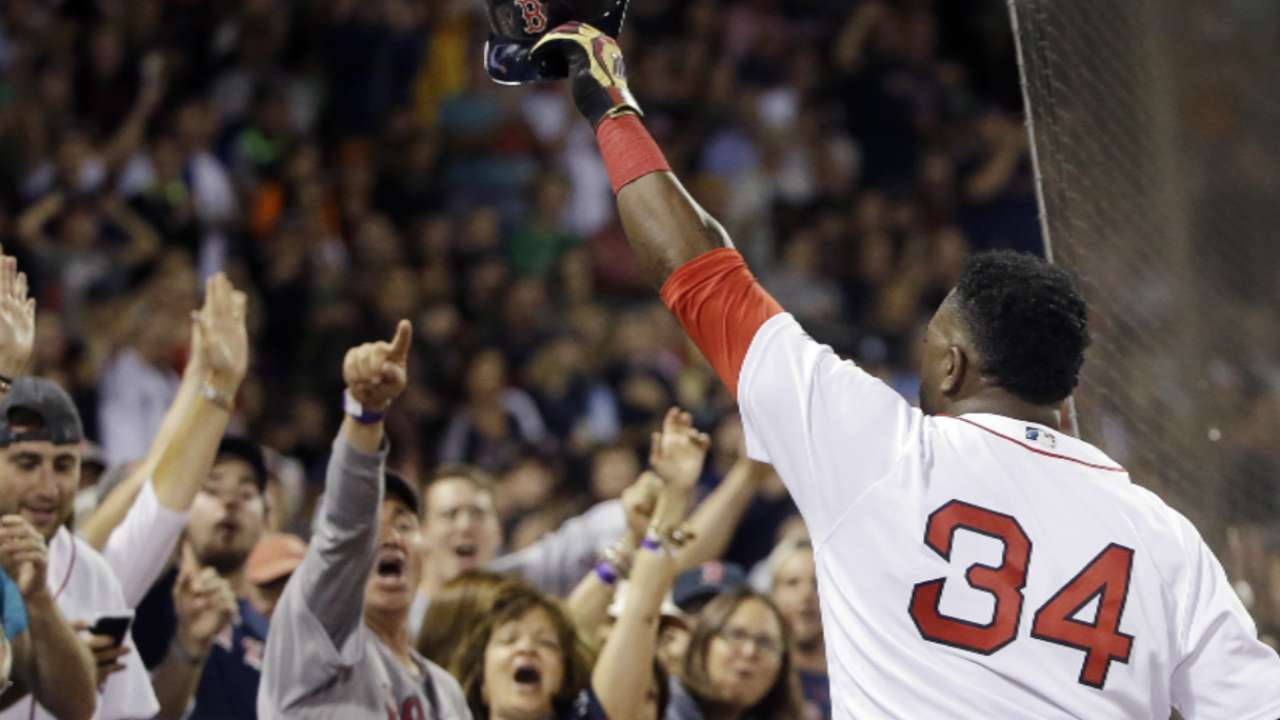 Sox to retire Papi's No. 34 before June game