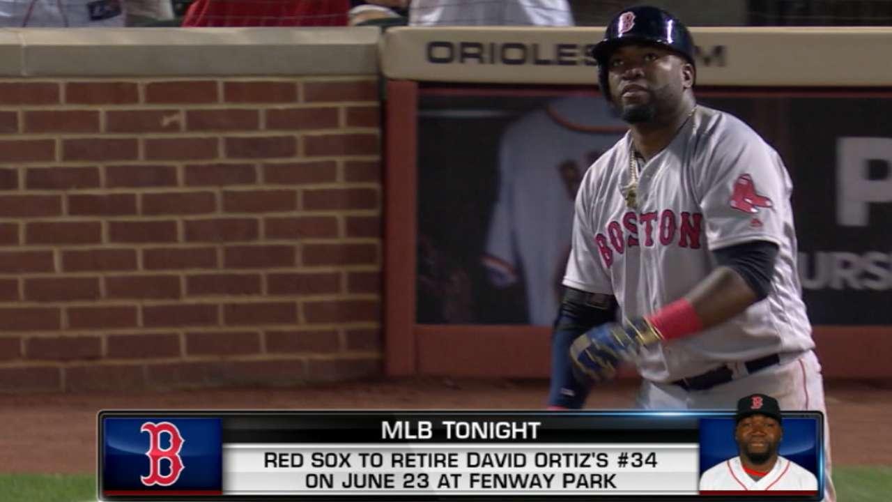 MLB Tonight on Ortiz's number