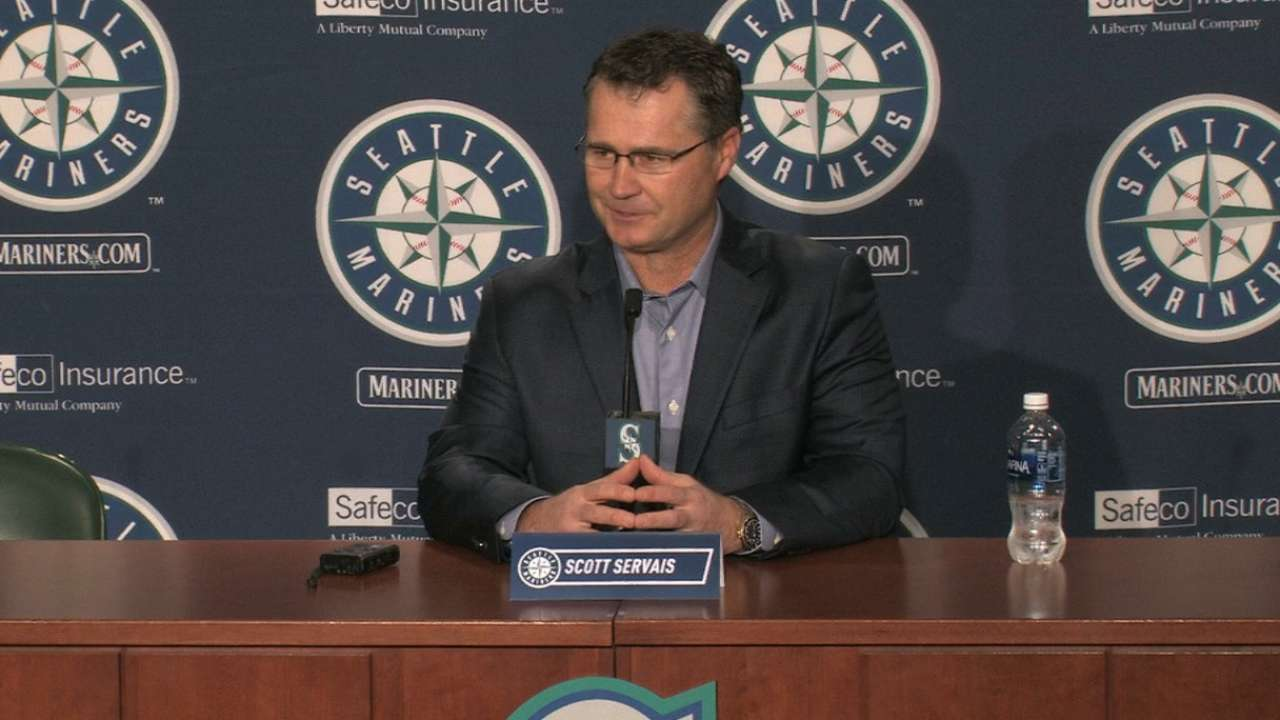 Servais on mindset as manager