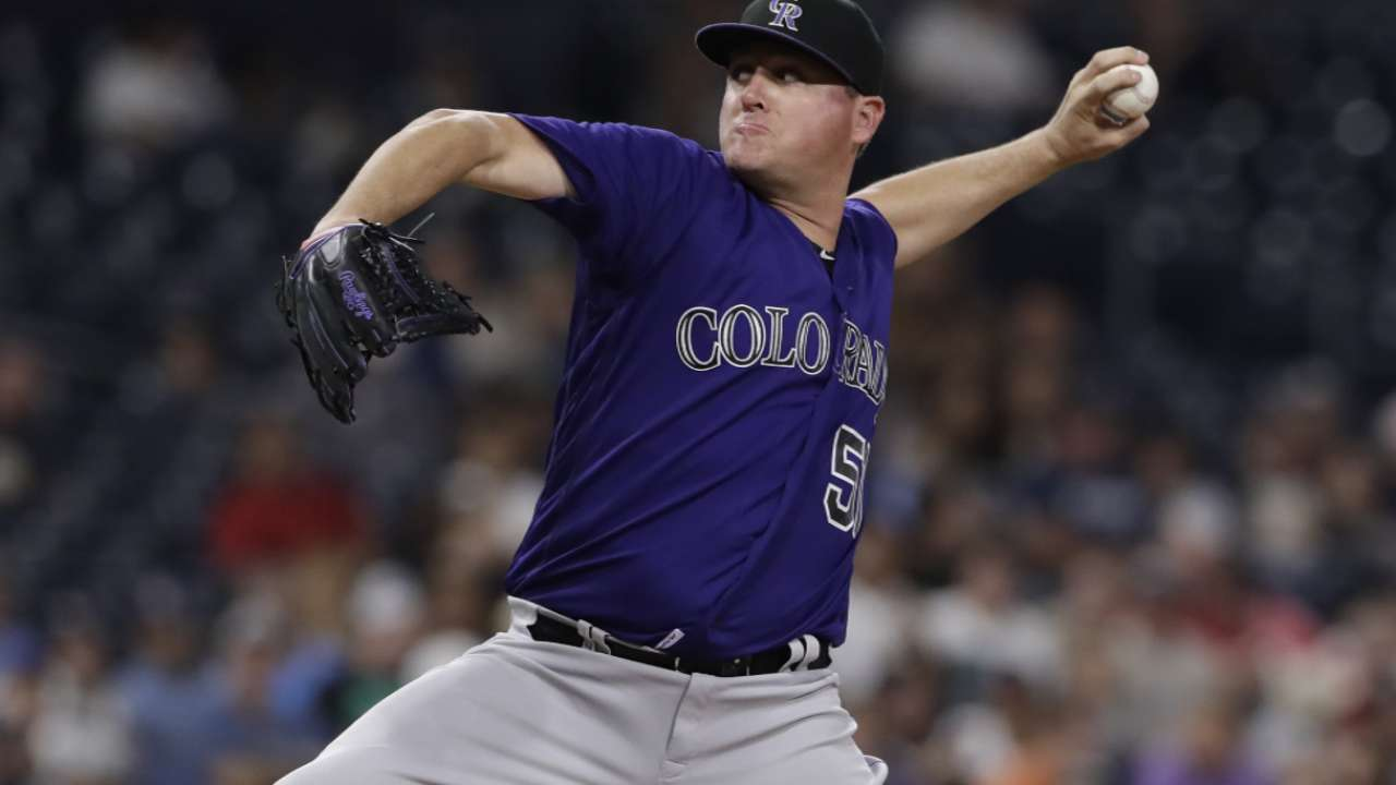 Rockies' McGee will pitch for US in World Baseball Classic