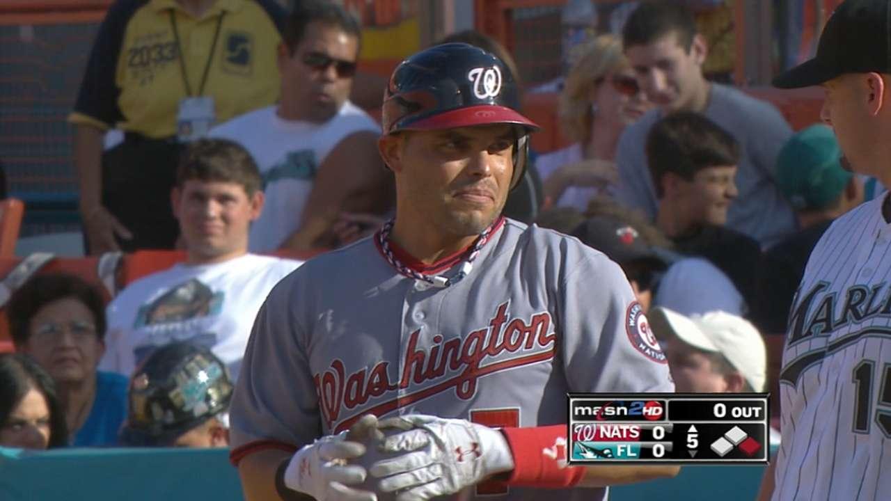 Pudge's final big league hit