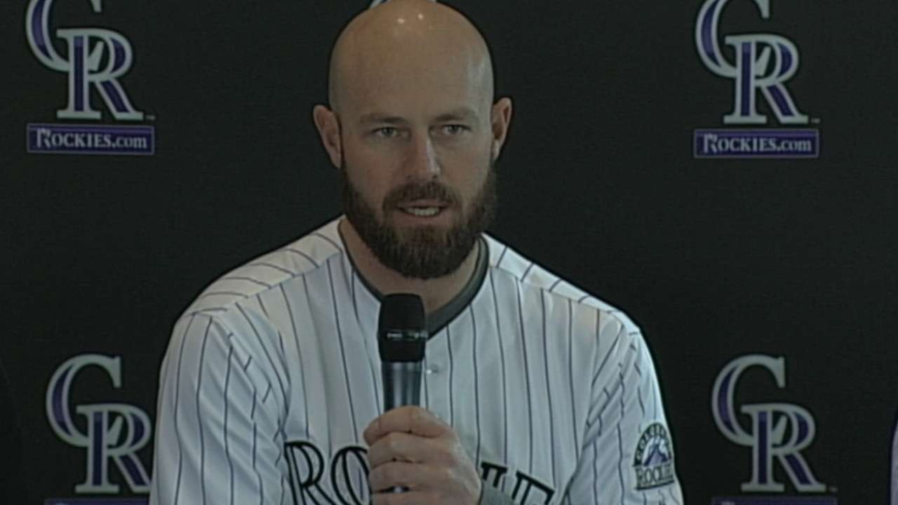 Dunn on why he joined Rockies