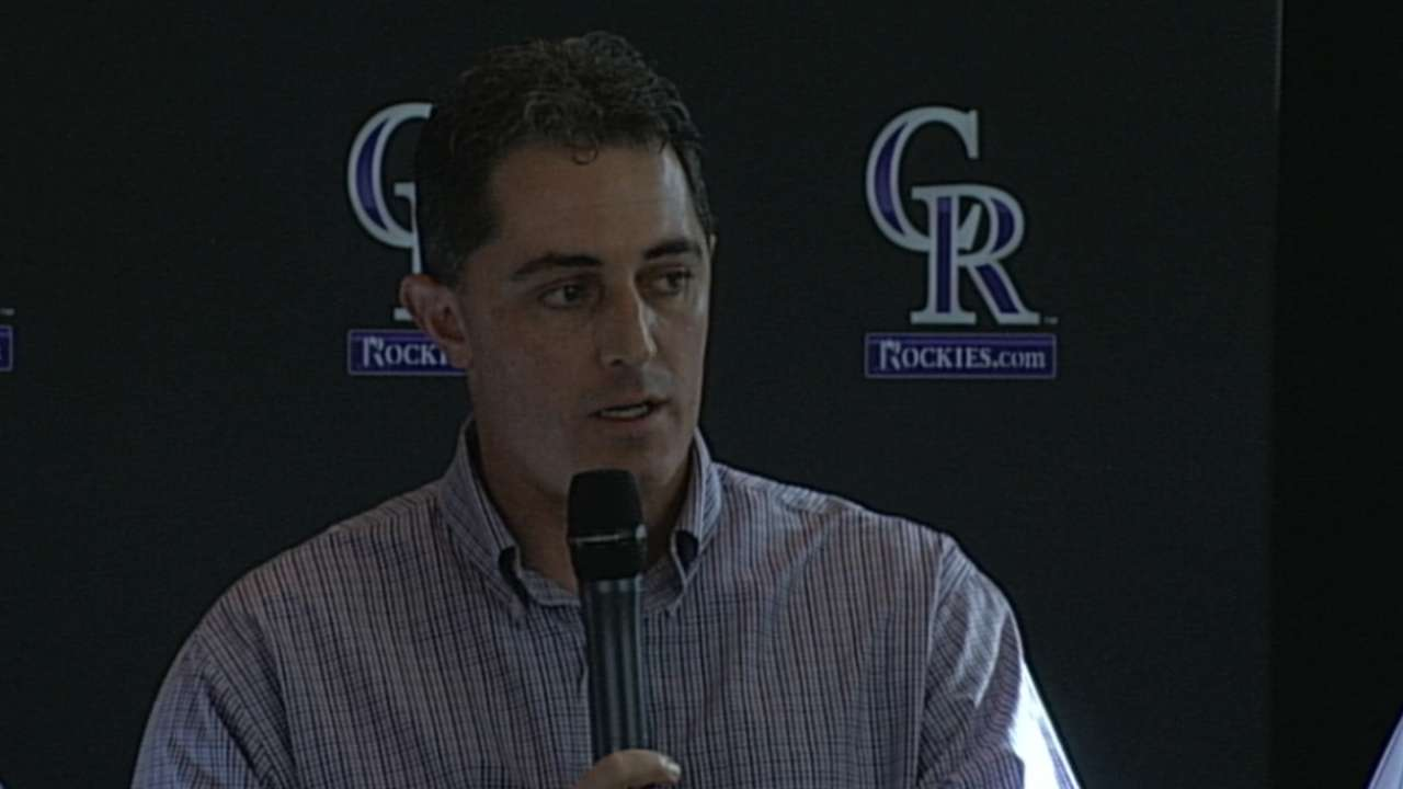 Rockies look to 2017 and beyond