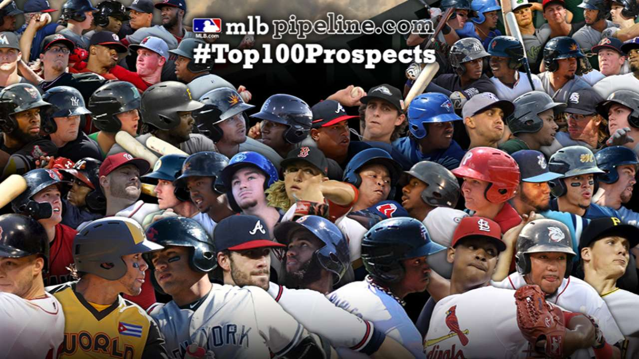 Top 100 Prospects list unveiled