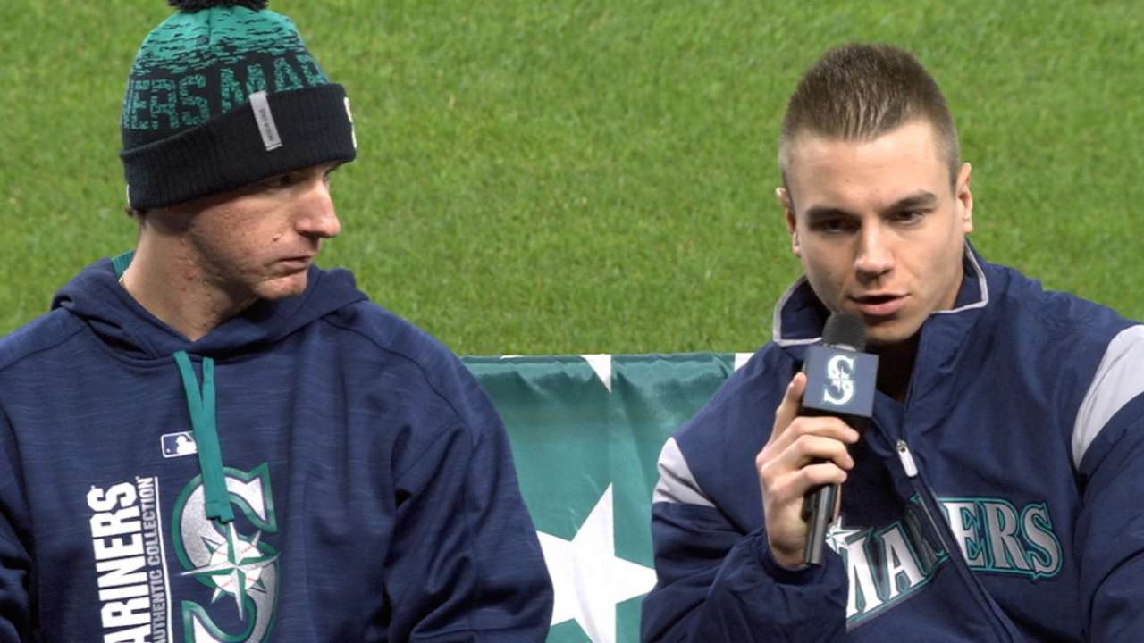 O'Neill eyes big spring with Mariners, Team Canada