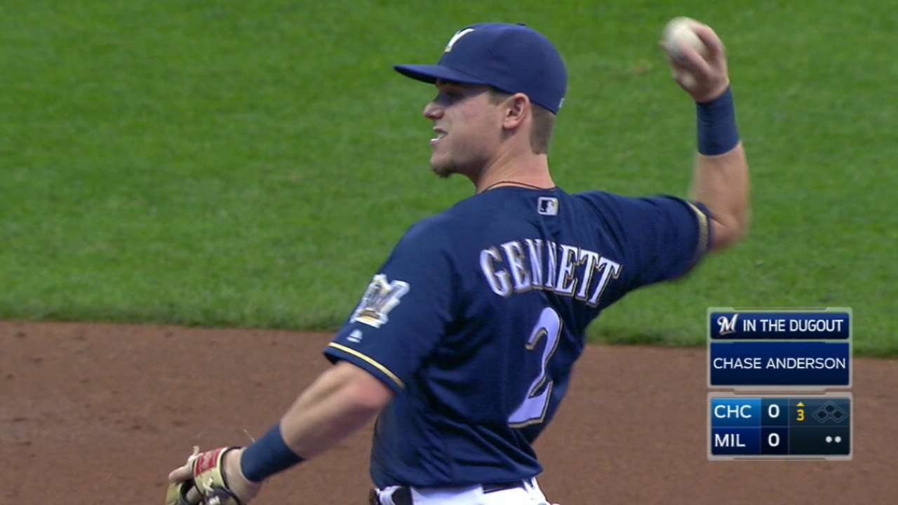 Gennett could play many roles