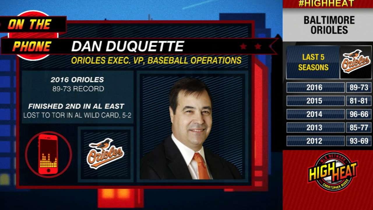 Dan Duquette on keeping Trumbo