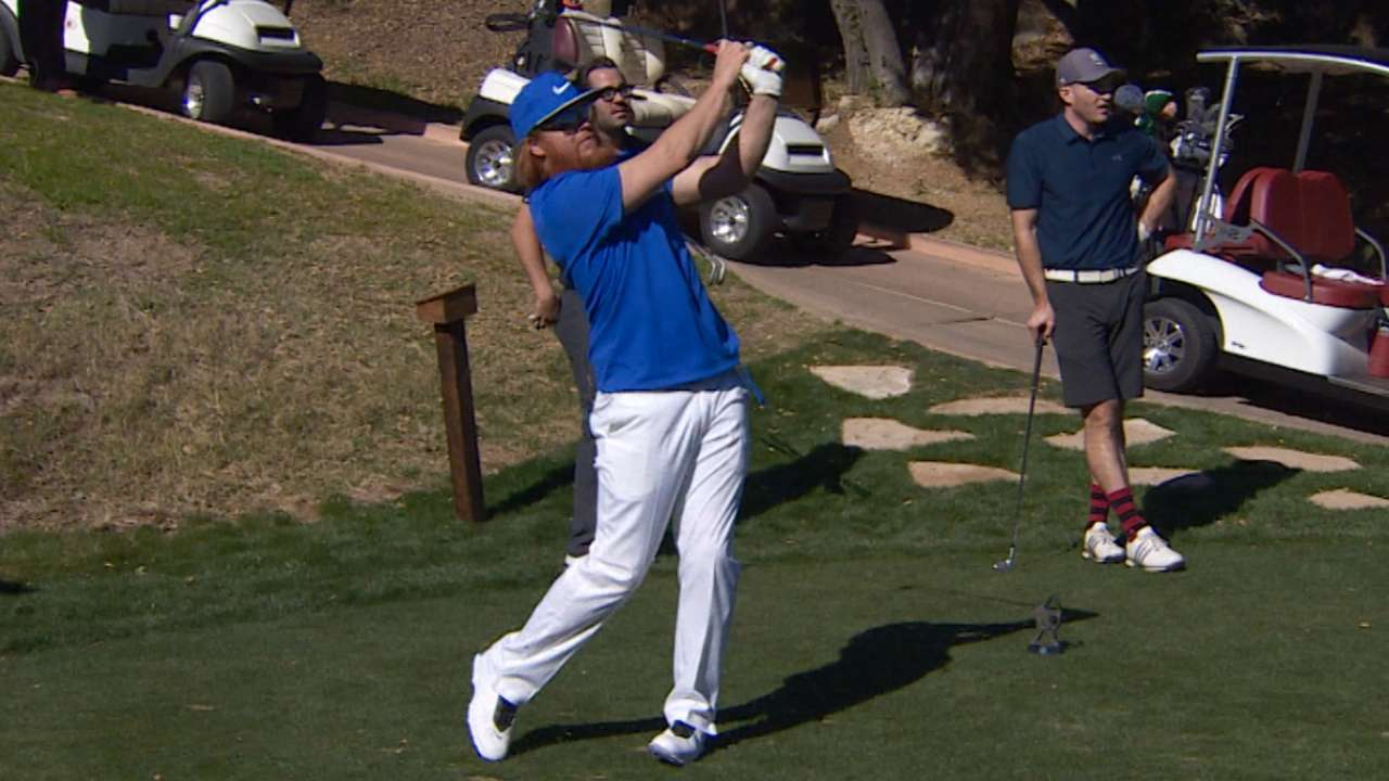 Turner hosts charity golf outing