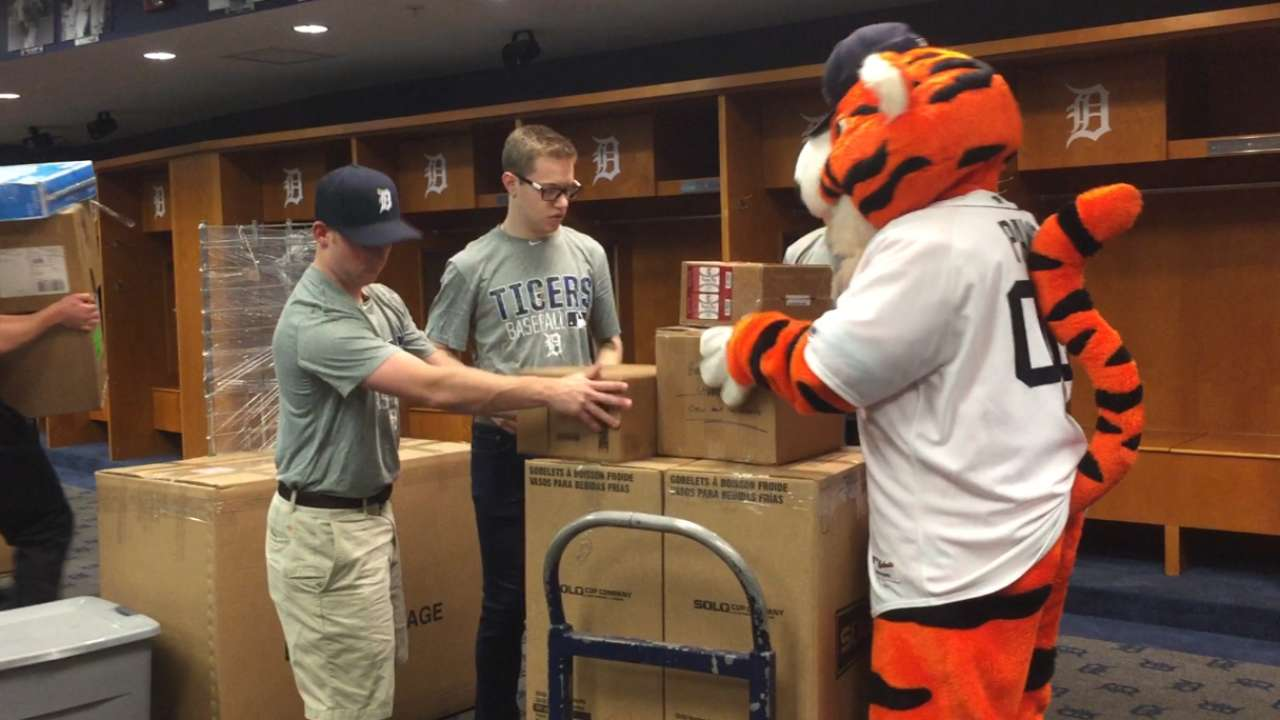 Tigers make their move on annual Truck Day