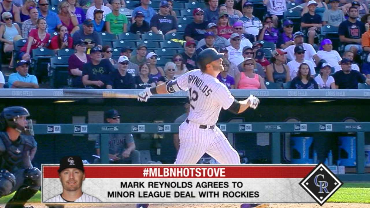 Reynolds confident in return to Rockies