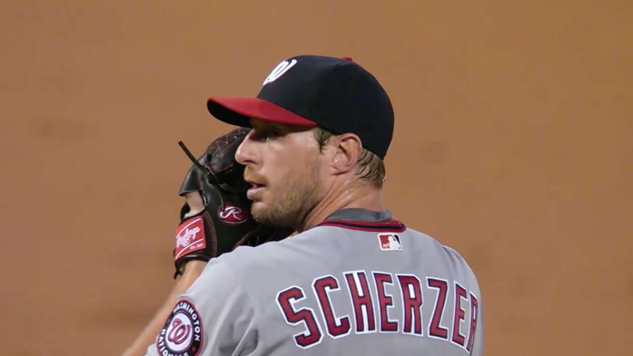 Outlook: Scherzer, SP, WSH