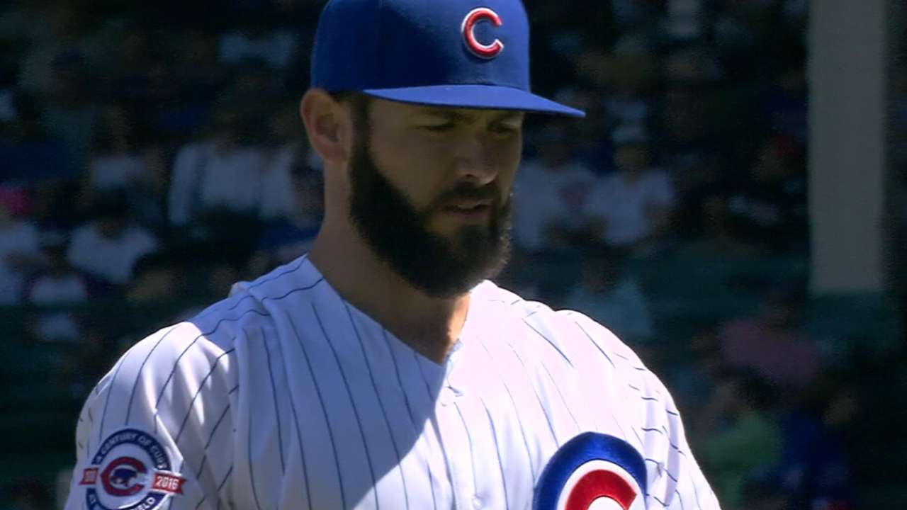 Arrieta open to contract extension with Cubs