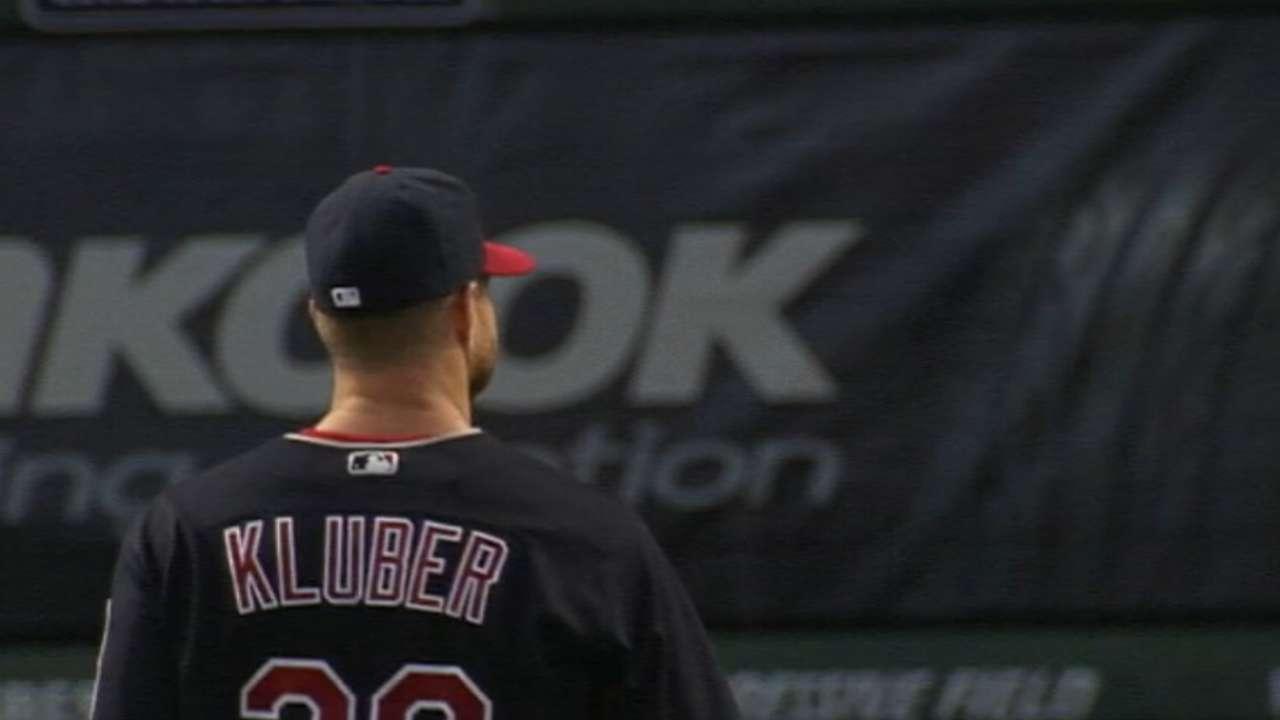 Kluber on his in-season routine