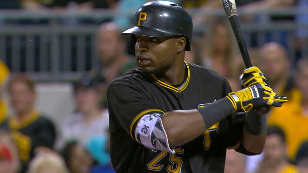 Outlook: Polanco, OF, PIT