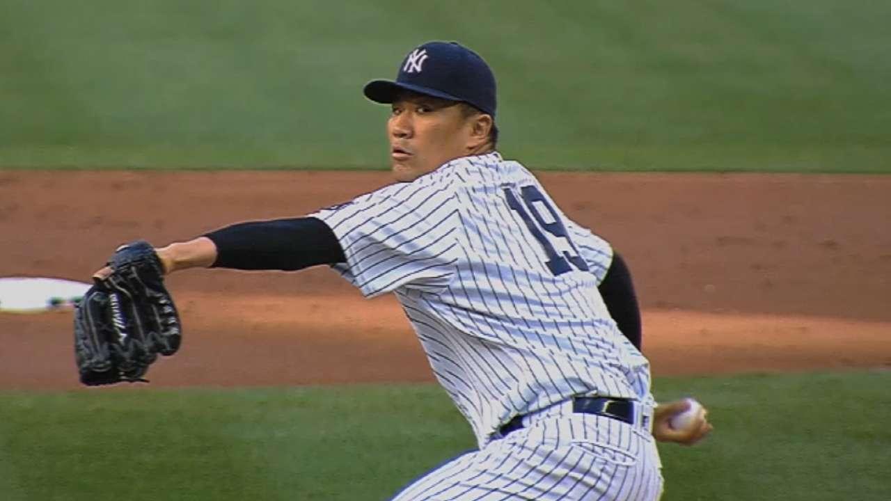 Around the Horn: Healthy Tanaka leads rotation