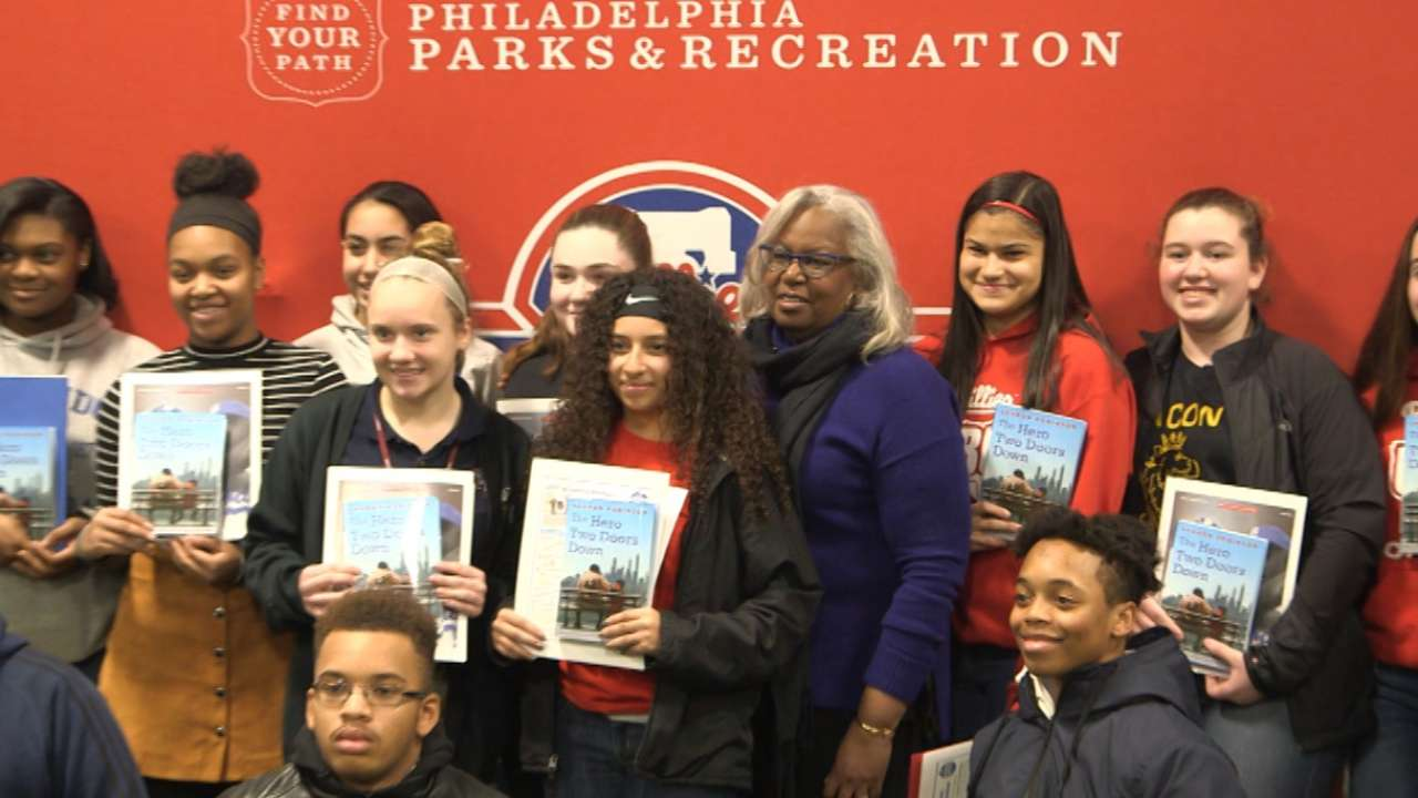 Sharon Robinson shares message with Philly students