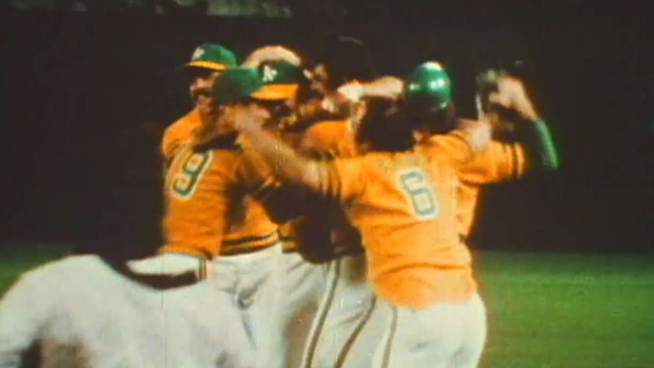 'Swingin' A's' doc revisits early '70s dynasty
