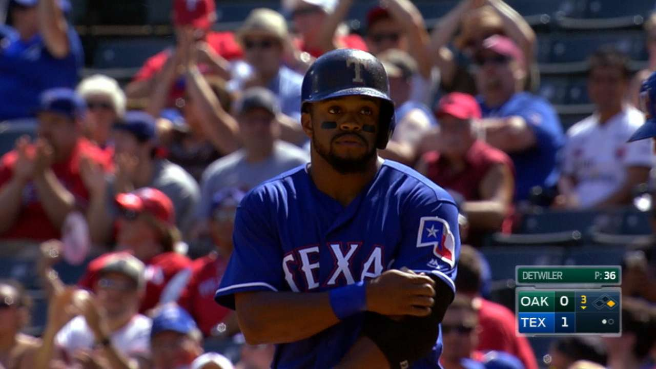 DeShields may surprise in 2017
