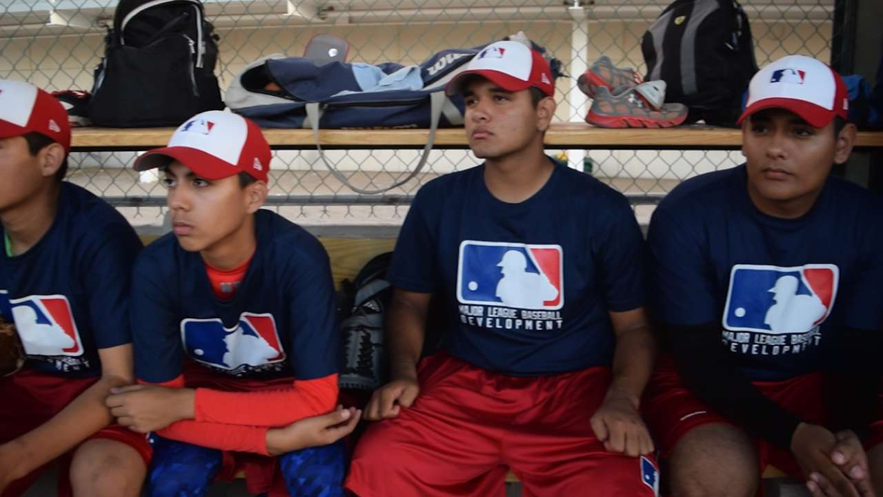 MLB unveils 'ambitious' Mexican academy