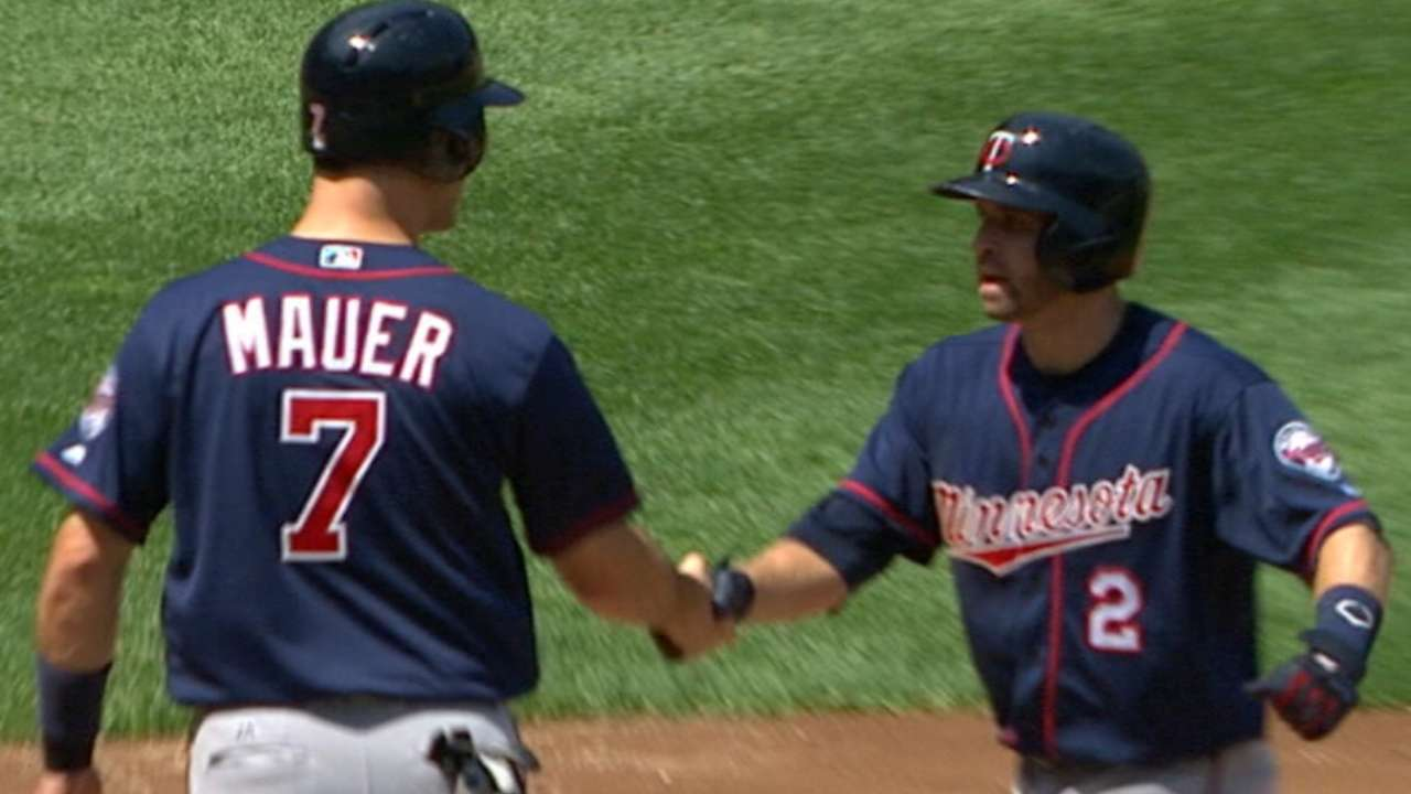 Dozier is Twins' star for 2017