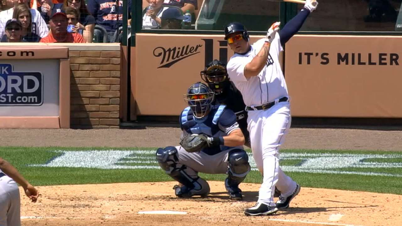Healthy Miggy shines brightest in Tigers' lineup