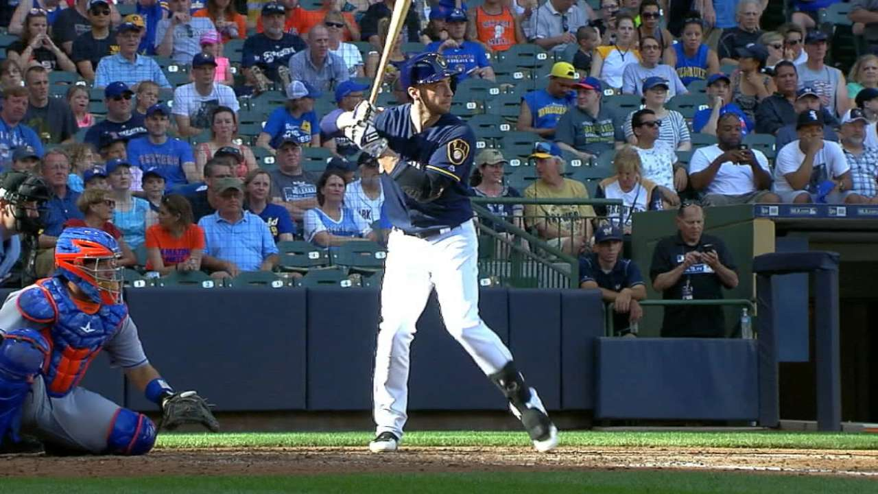 Healthy Braun back where Counsell expected