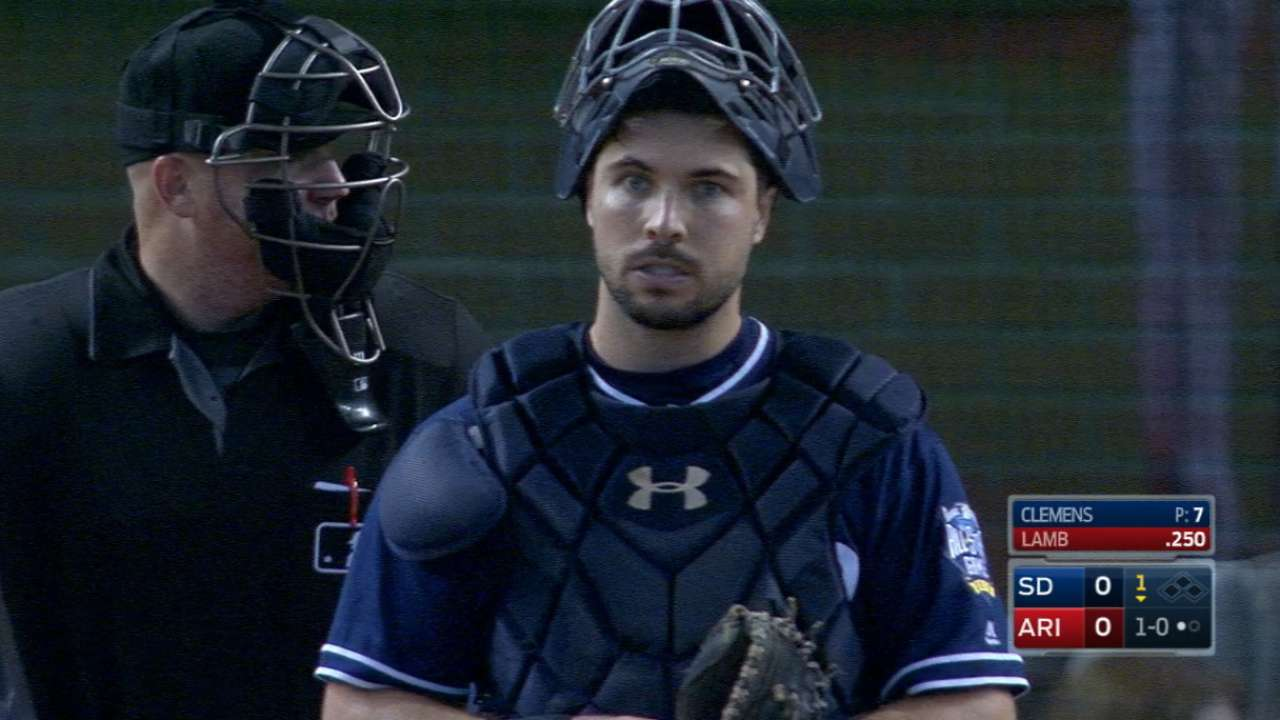 Top of the pops: Padres catchers project for elite throws