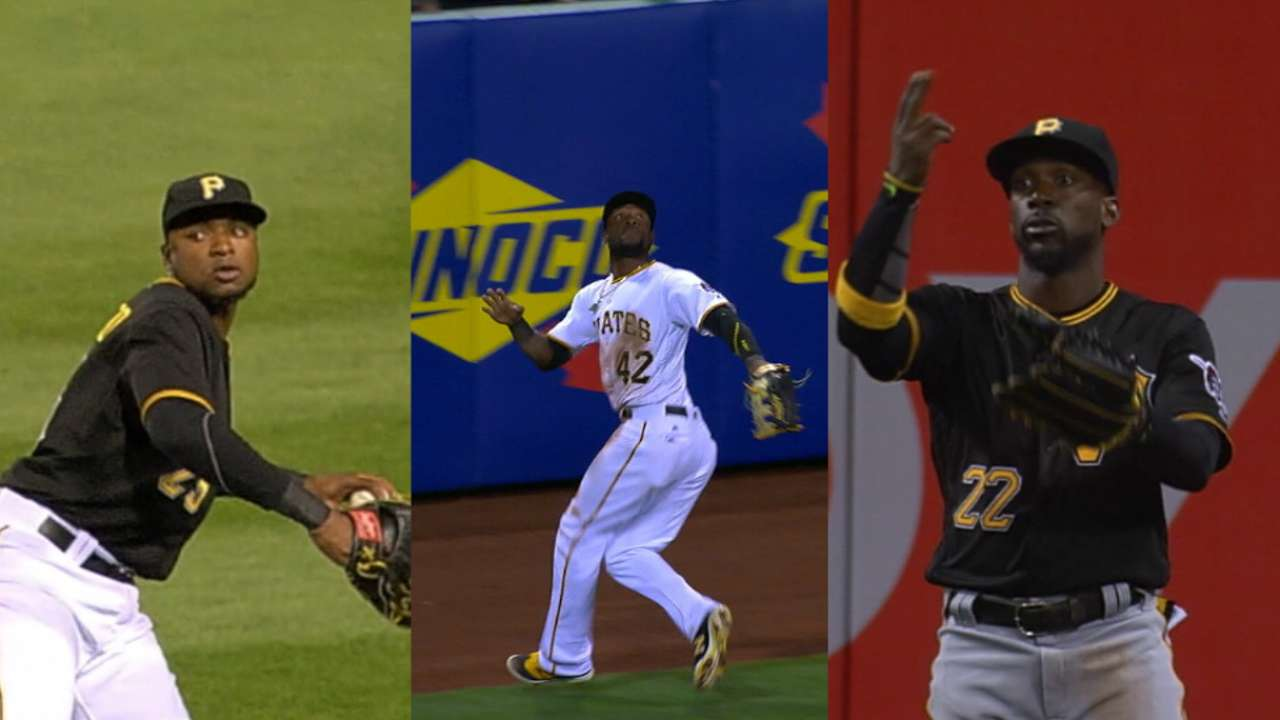 Bucs shift Cutch to right; Marte mans middle