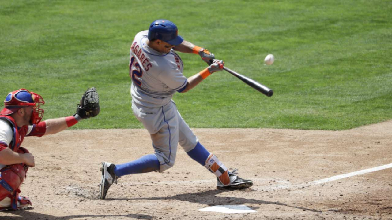 Lagares could surprise as Mets' 4th outfielder